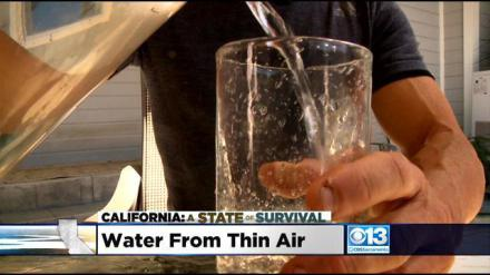 California: A State Of Survival Part 4 - Bay Area Company Pulls Water From Thin Air